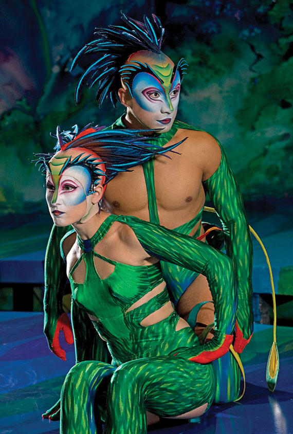 """Mystere"" at Treasure Island is the first Cirque du Soleil show to open on the Strip. Photo Credit: Richard Termine"