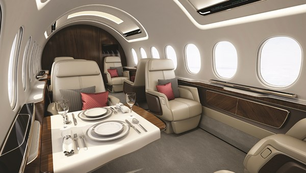 A rendering of the AS2 supersonic business jet that Aerion is developing in cooperation with Airbus.