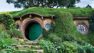 In New Zealand, touring Tolkien's world