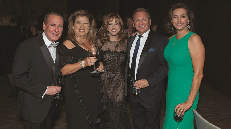 Doug Seagle of Seabourn, Marcia Rowley of ICE, Vicki Freed of Royal Caribbean International, Chris Austin of Starwood Hotels & Resorts and Dondra Ritzenthaler of Celebrity Cruises.