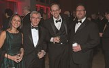 Lucy Bueti of Priceline, Maurice Honor of Hertz, Bill Jose of Priceline and Anthony Ciminera of Hertz.