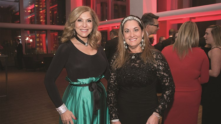 Edie Rodriguez and Carmen Roig of Crystal Cruises.