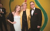 Alexis Smith of TravelSmiths and Marett Taylor and Shawn Johnson of Abercrombie & Kent.