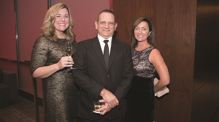 Pam Hoffee of the Globus family of brands, Rick Zimmerman of KHM Travel Group and Kristen Steele of Globus.