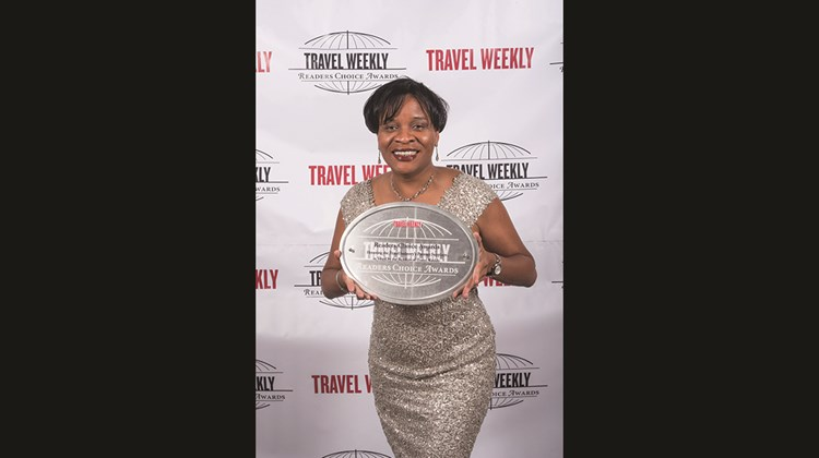 Lorine Charles-St. Jules of the St. Lucia Tourist Board.