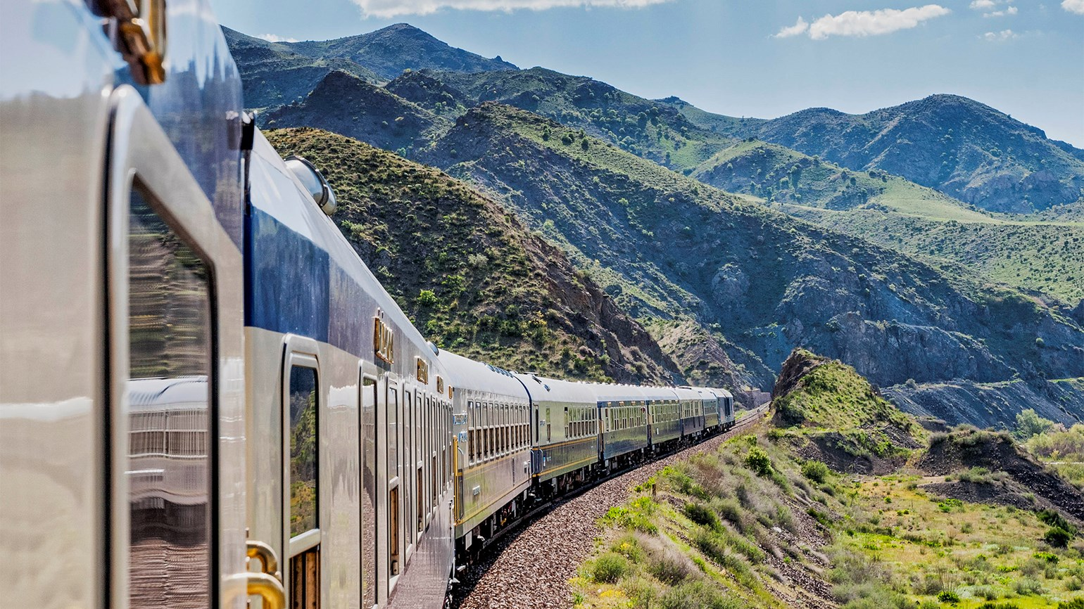 Wilderness Travel offers a 'Cruise by Rail'
