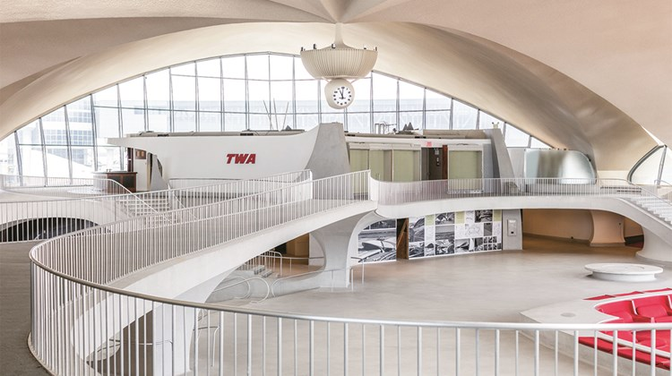 The TWA Flight Center, shuttered since 2001, broke ground on its redevelopment last month.