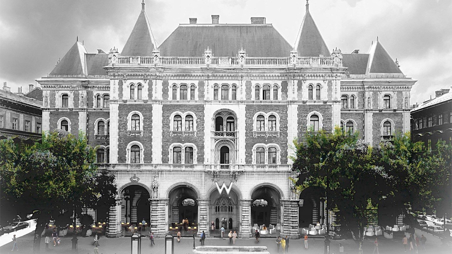 Hungary's first W hotel to open in Budapest in 2020