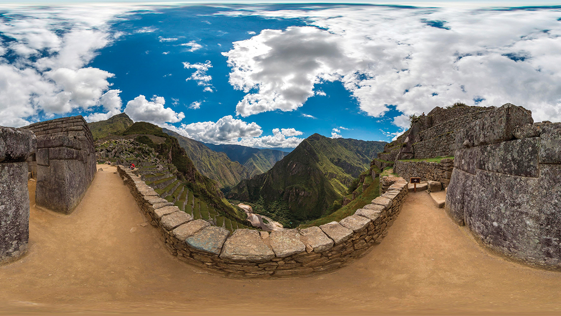 Virtual reality company YouVisit has created content for several travel companies and destinations, such as this view of Machu Picchu in Peru. Photo Credit: YouVisit