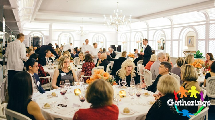 Guests sit down to a dinner as part of Travel Leaders Group's exclusive event for Protravel International, Tzell Travel Group and Travel Leaders Network agents at the Hotel du Cap Eden Roc in Antibes, France. The event coincided with the recent International Luxury Travel Market in Cannes.