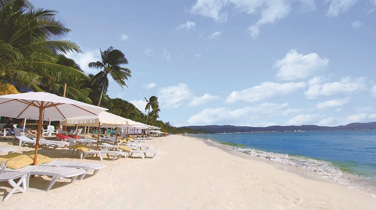The oft-photographed White Beach on Boracay.<br /><br /><strong>Photo Credit: Leah de Leon</strong>