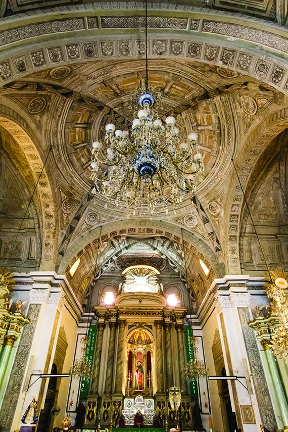 San Agustin, a Unesco World Heritage church. Photo Credit: Erwin Lim