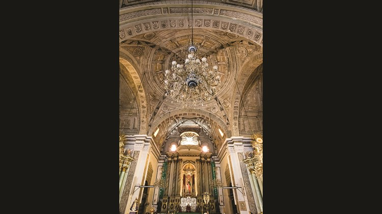 San Agustin, a Unesco World Heritage church in Manilla.<br /><br /><strong>Photo Credit: Erwin Lim</strong>