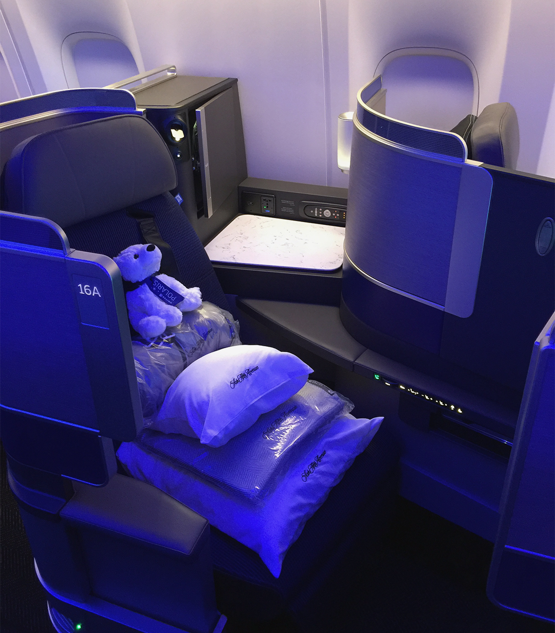 Africa Business Class: United Sweats The Details In New Business Class: Travel Weekly