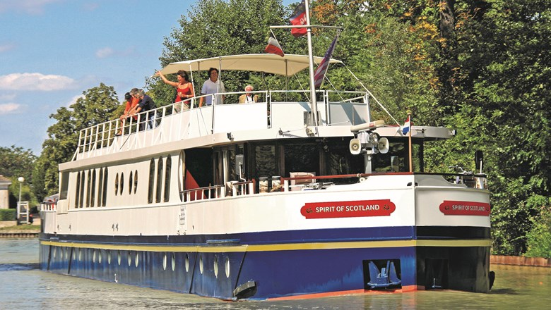 The Spirit of Scotland will cruise the Caledonian Canal and lochs of Great Glen in the Scottish Highlands.