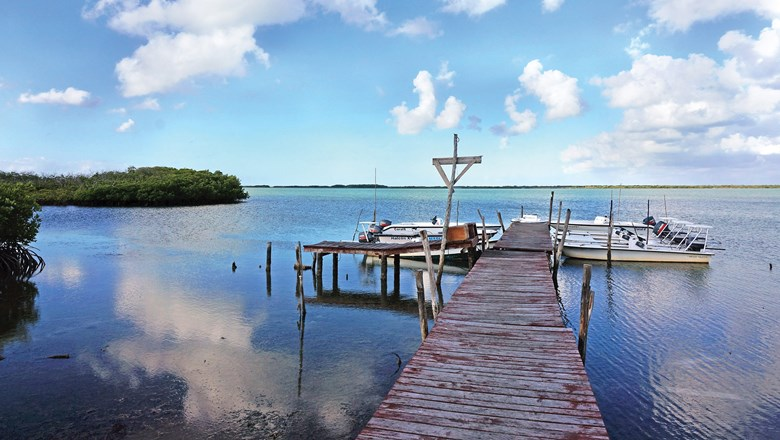 The protected reserve of Cayo Romano is a pristine, secluded spot for fishermen with healthy populations of tarpon, permit and other game fish.