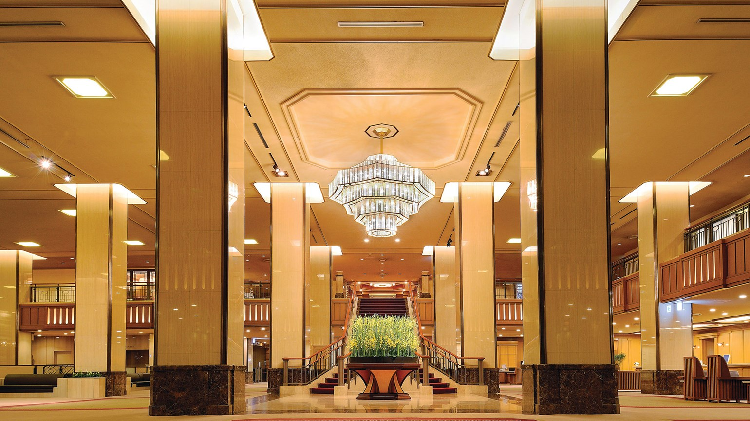 Imperial Hotel: Traditional service in the heart of Tokyo