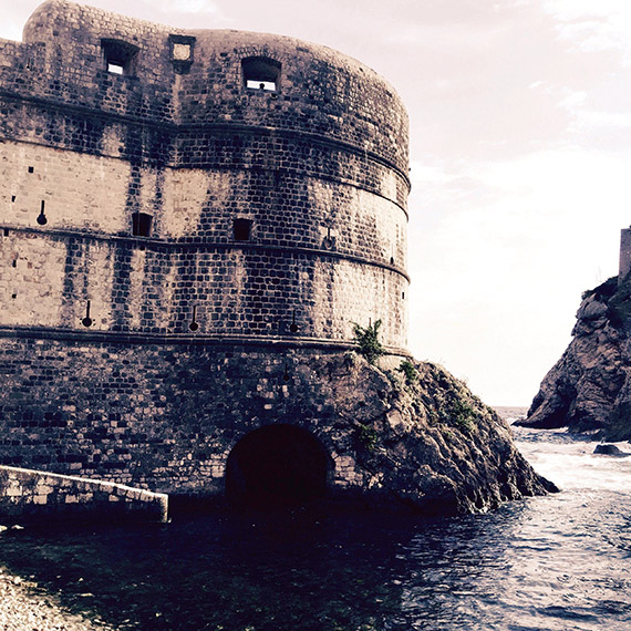 "The Pile Gate served as King Joffrey's perch in ""Game of Thrones."" Photo Credit: Felicity Long"