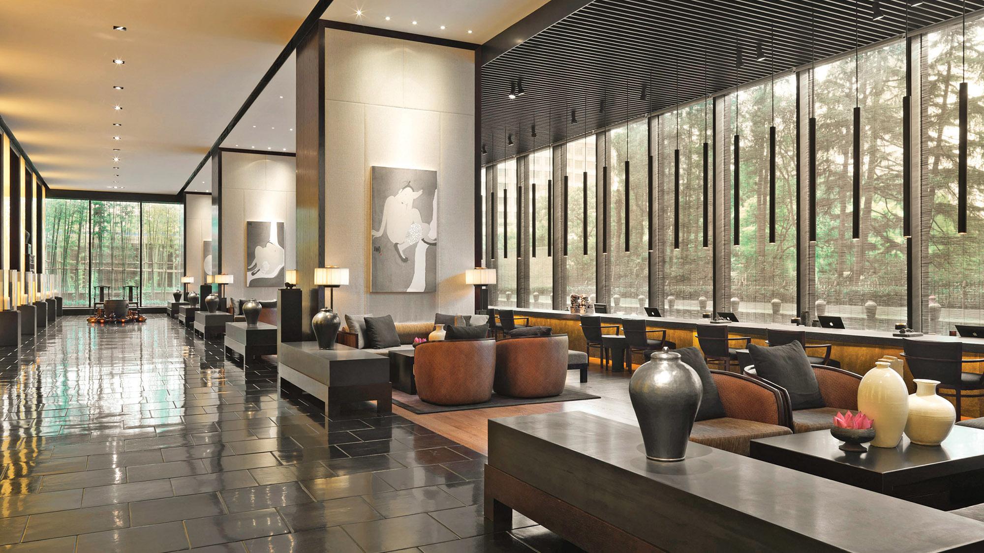 At Puli Hotel Unwinding In Hectic Shanghai Travel Weekly