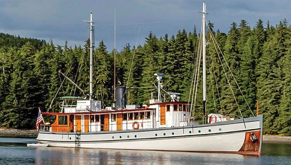 The small vessels in Wilderness Travel's fleet are designed to reach more remote areas of Alaska.