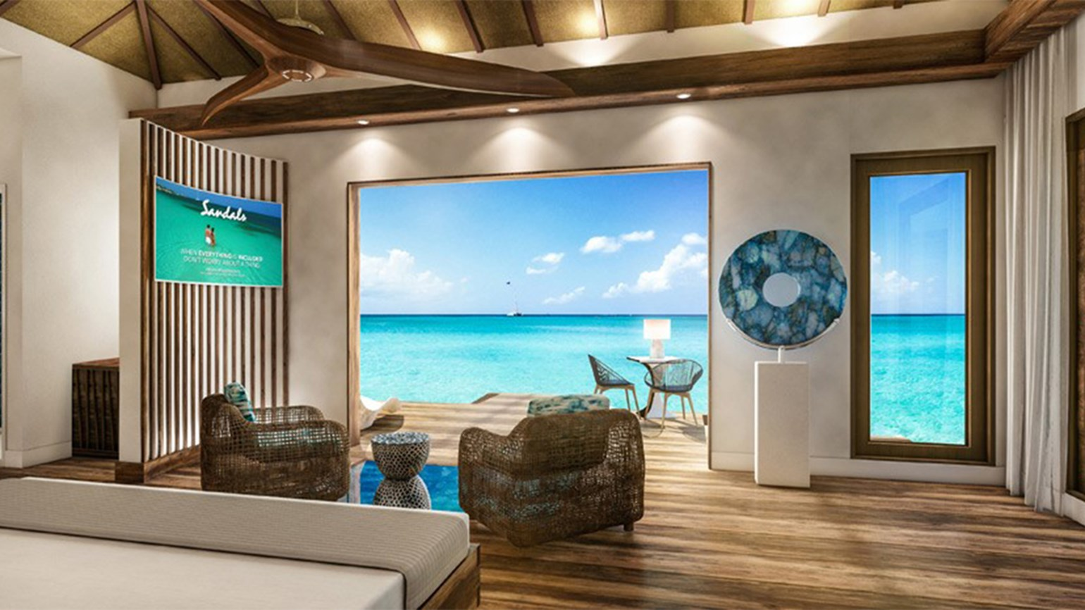 Sandals adding overwater bungalows at St. Lucia resort