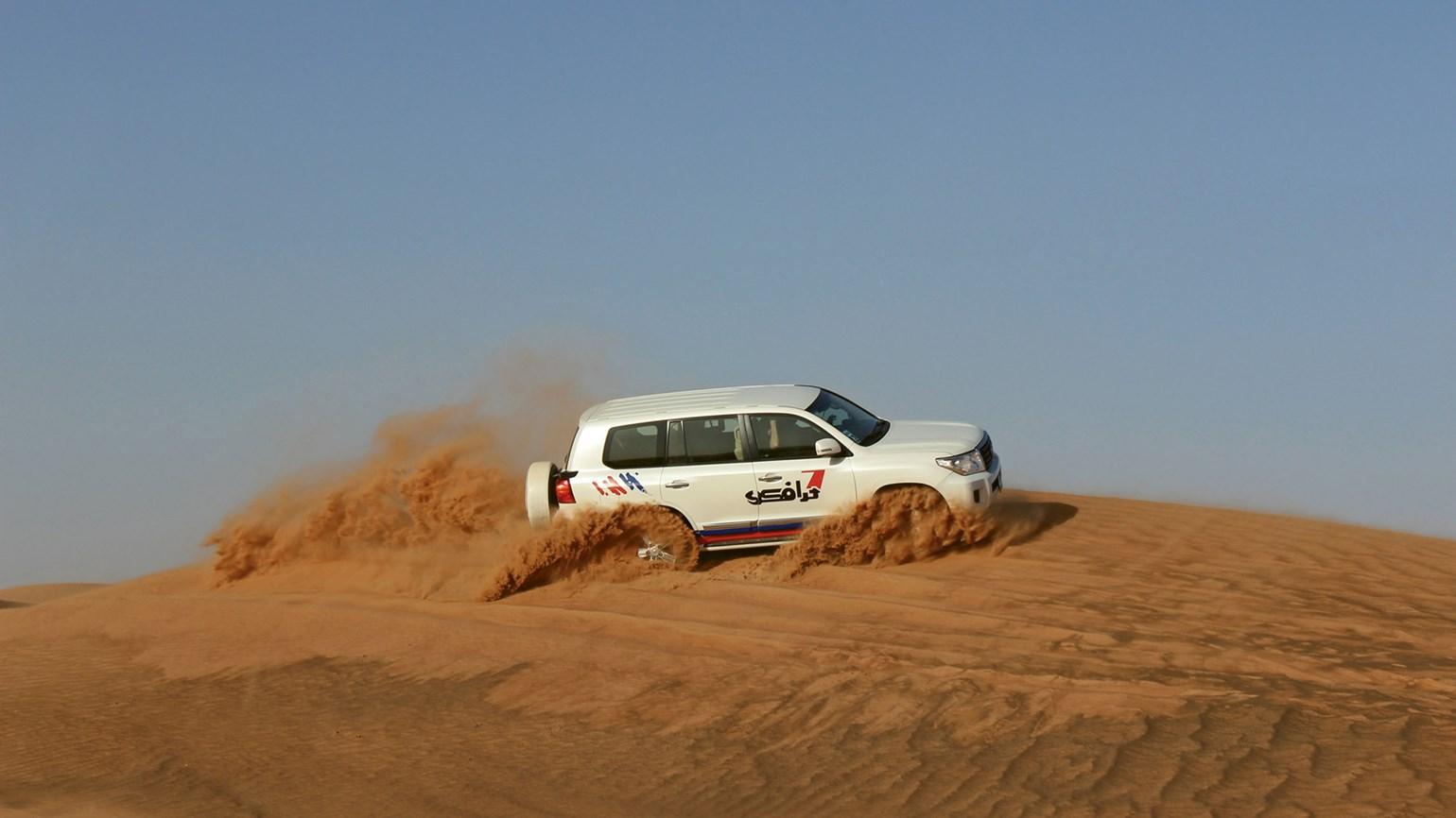 Off-roading UAE-style outside Dubai