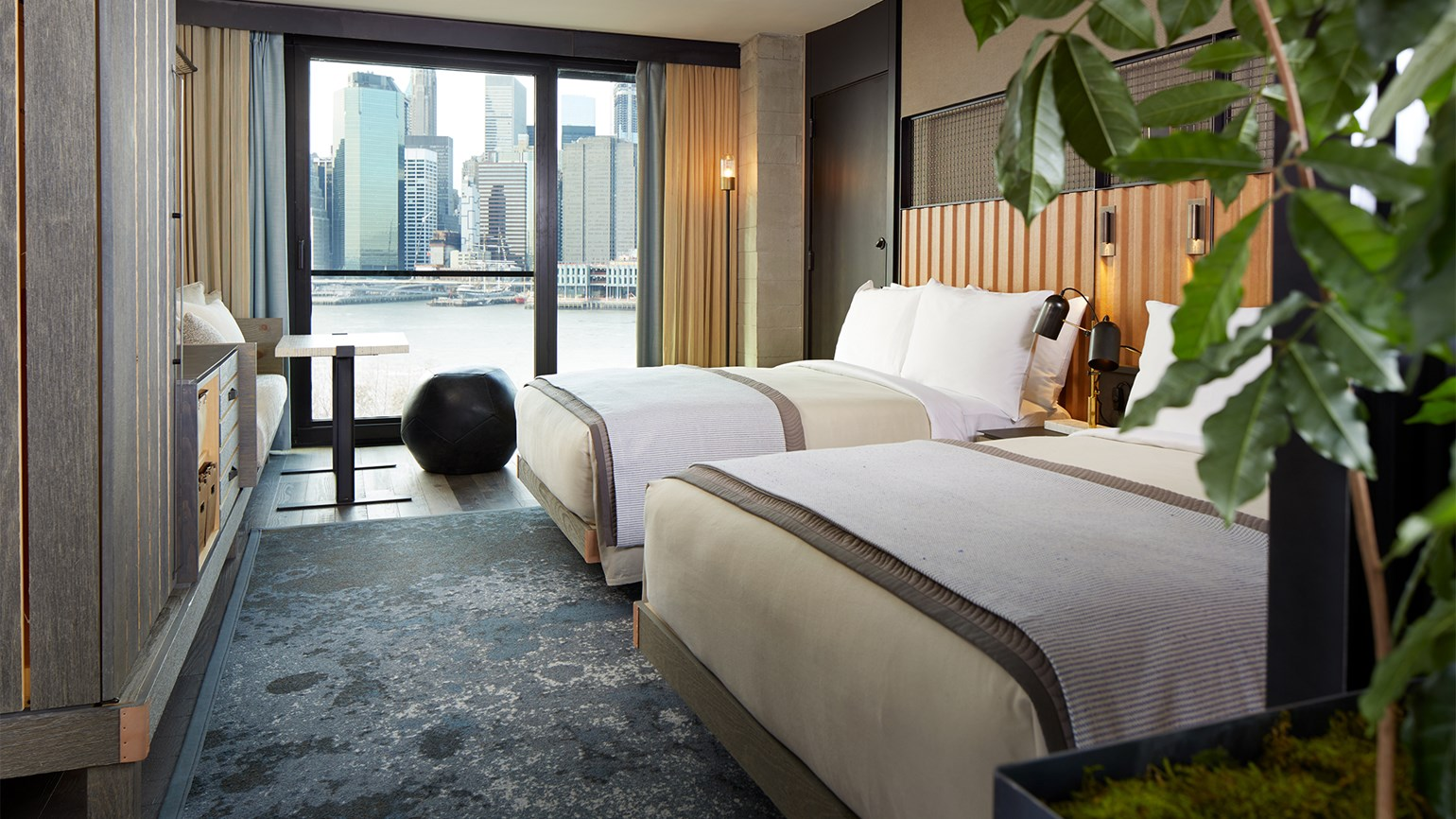 Ecoluxury brand 1 Hotels debuts in Brooklyn