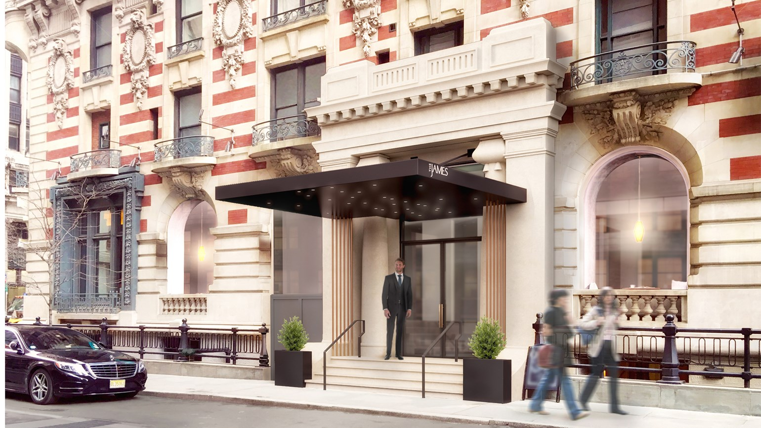 New York's Carlton Hotel converting to James brand