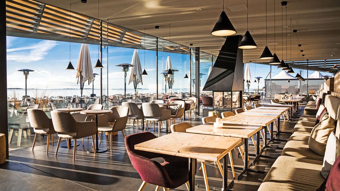The restaurant at Löyly Helsinki