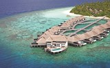 Modern-day paradise in the Maldives