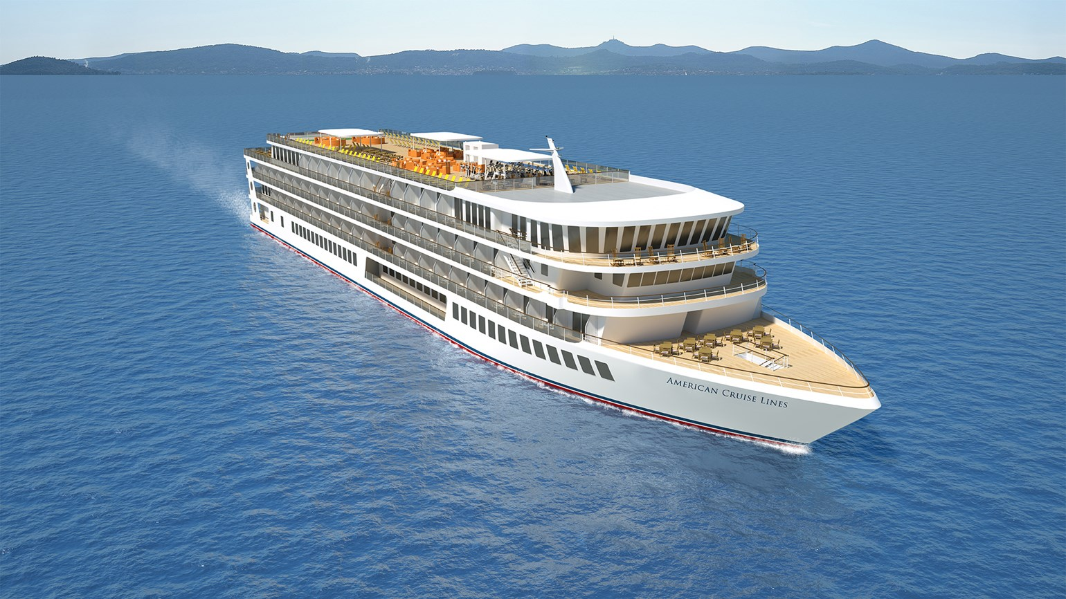 American Cruise Lines unveils look of modern U.S. riverboats