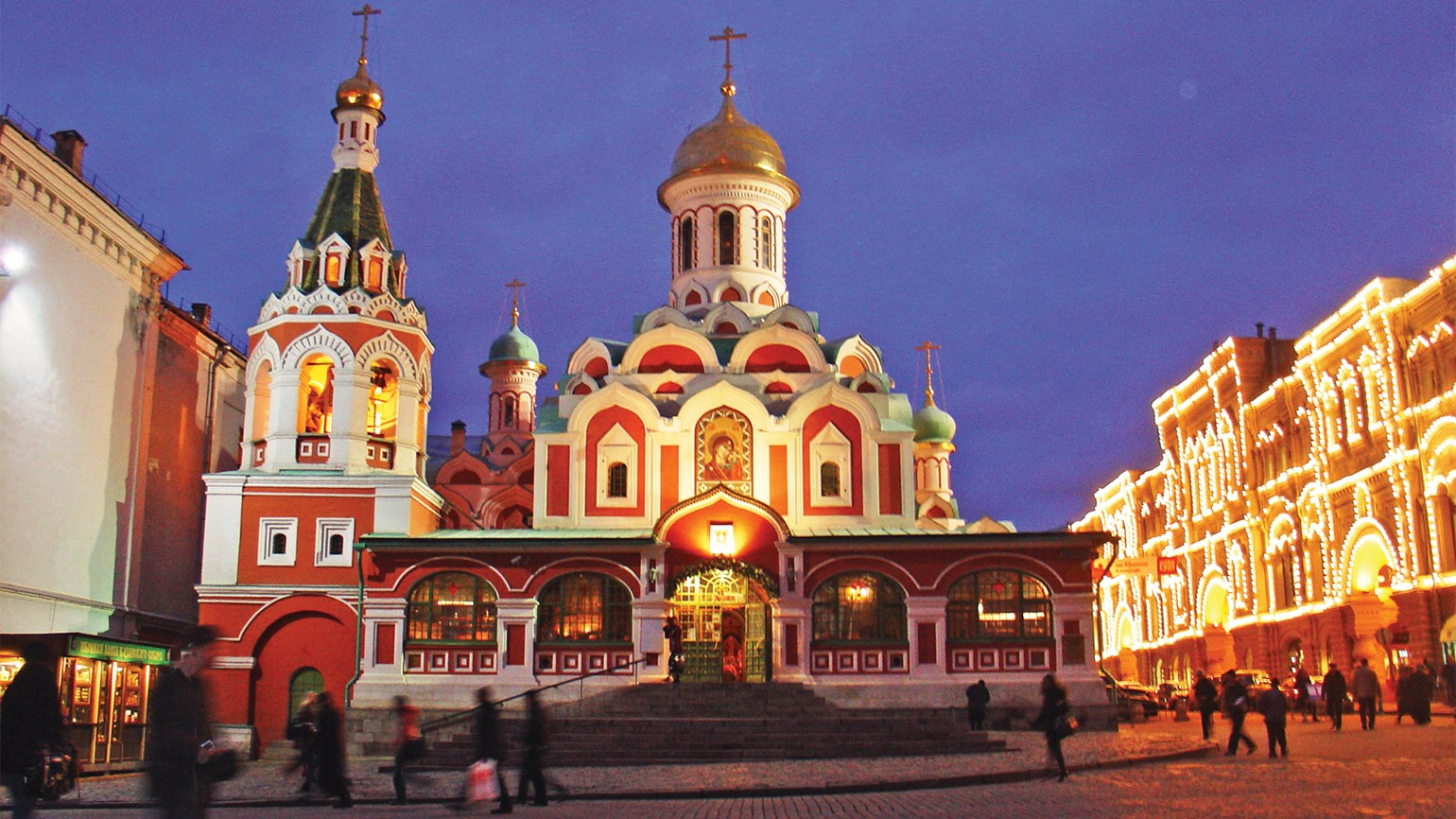 Travel to Russia on a big upswing