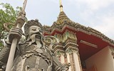 The Wat Pho temple complex in Bangkok.