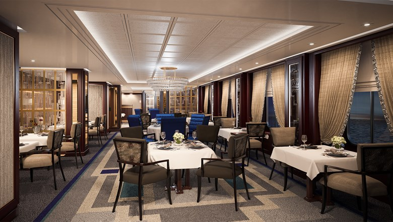 Cunard Line will add a new Brittania Grill restaurant to the Queen Victoria.