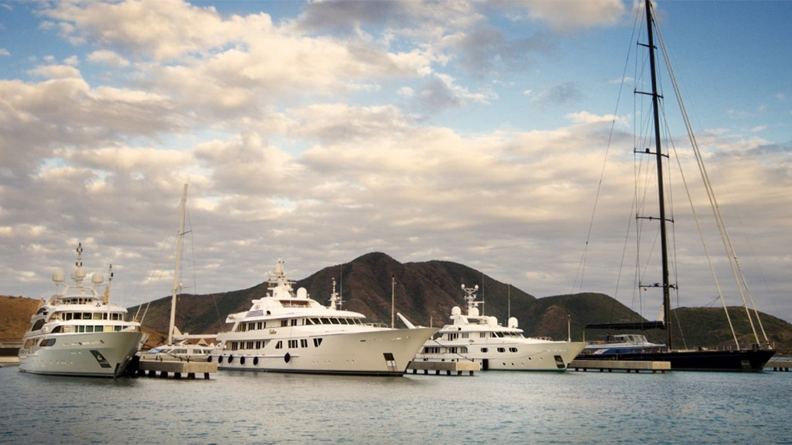 Shops and marina open at Christophe Harbour in St. Kitts