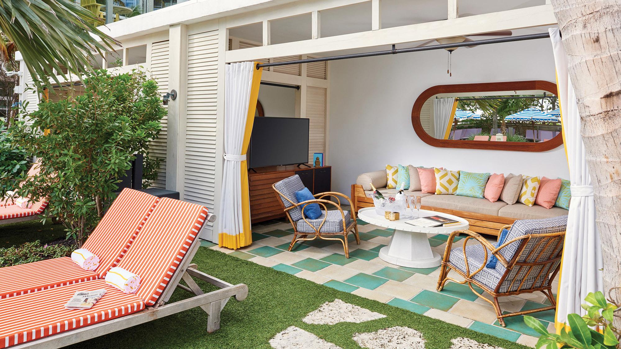 Bungalow Miami miami s confidante creates bubbly and bungalow plan
