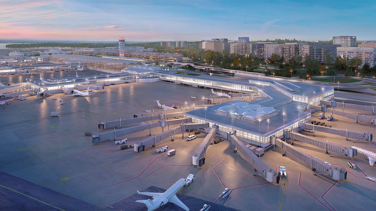 Reagan National getting a new concourse