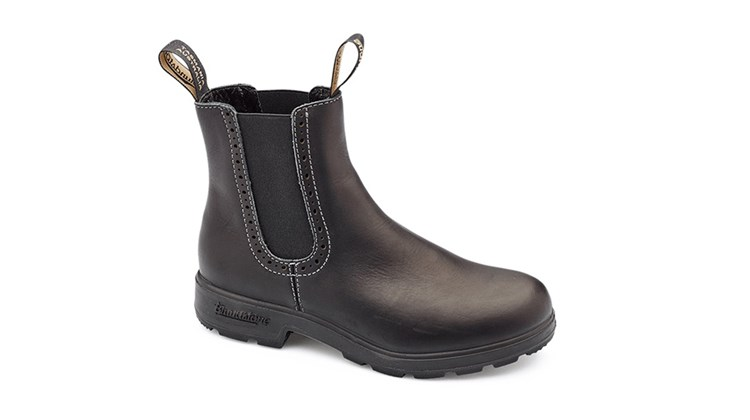 From the Tasmania-based boot manufacturer Blundstone, this attractive and rugged product provides the kind of shock absorption that makes soft adventure treks even softer. Voltan Black Leather Boots, which come with an extra set of removable footbeds and dual plastic side inserts for a perfect fit, has a steel shank for stability and a toe spring to reduce fatigue.