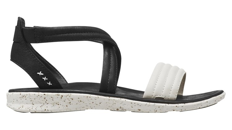 Equipped with the Superfeet company's custom-designed ''supercork'' insole; a tread with slip-resistant, flexible grooves; and a leather and mesh outsole, the Verde model sandals for women combine style, comfort and utility for the warm-weather vacationer. And, according to Superfeet, the Verde, which comes in gray, black and white and orange, can ease the discomfort of wearers suffering from plantar fasciitis, foot elongation and heel spurs.