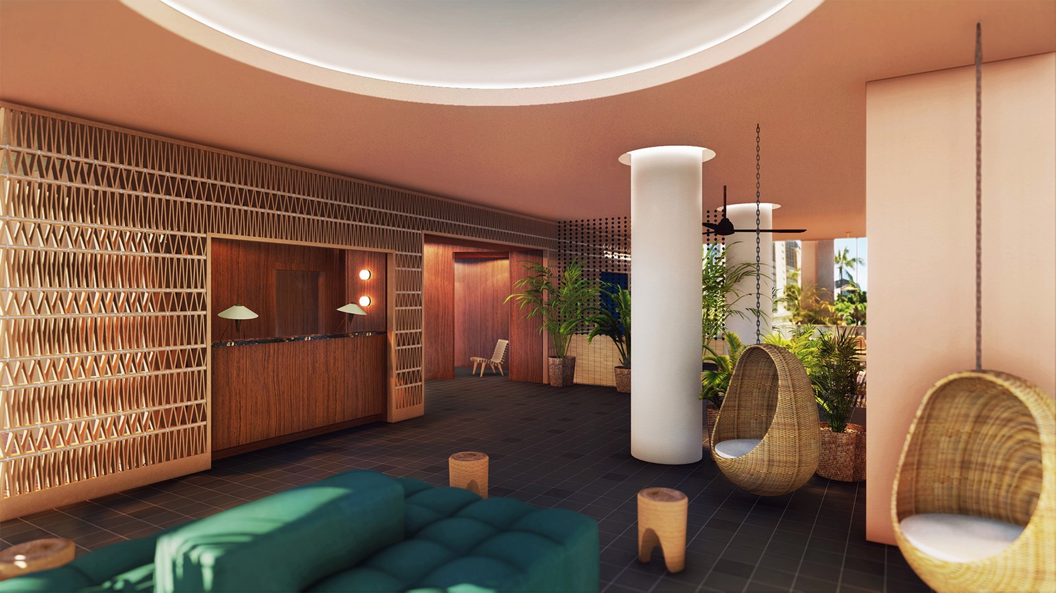 Midcentury vibe at millennial-friendly Laylow hotel
