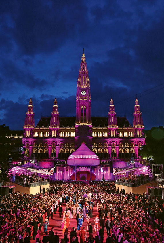Vienna's annual Life Ball raises millions to help the fight against AIDS.