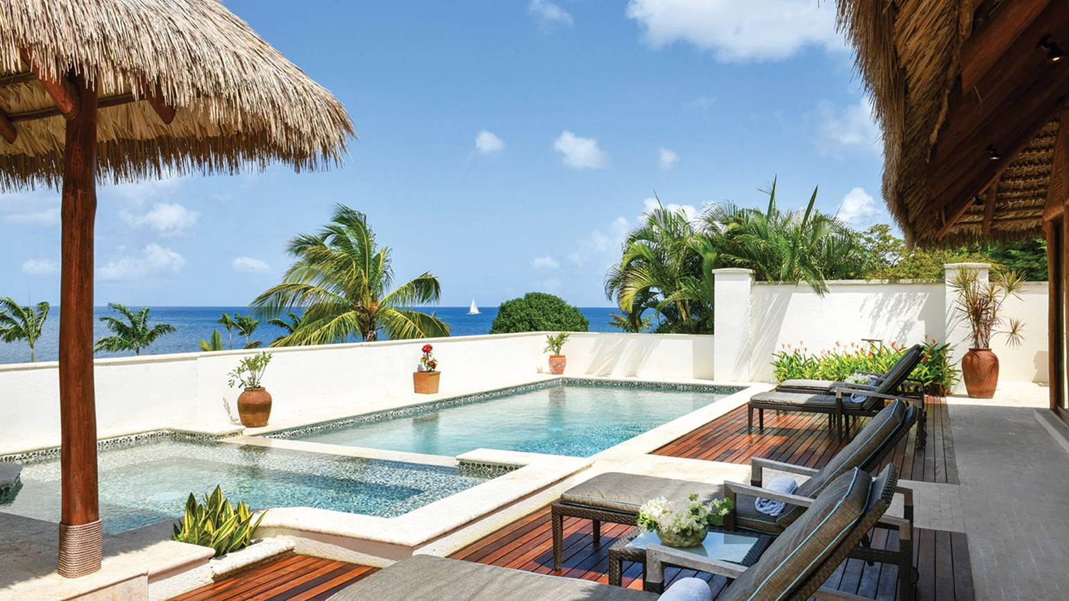 Luxury in abundance on tiny tranquil nevis travel weekly for Private swimming pools long island
