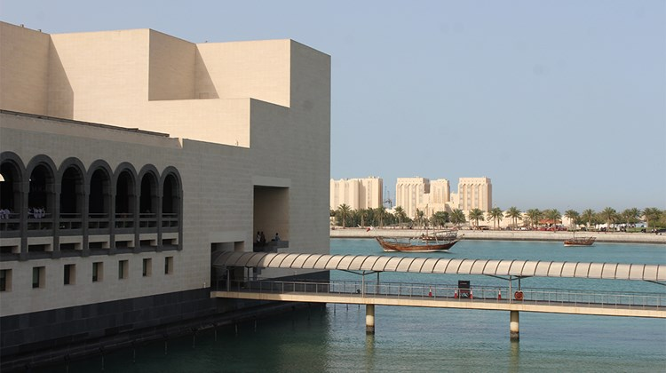 The Museum of Islamic Art, designed by I.M. Pei.