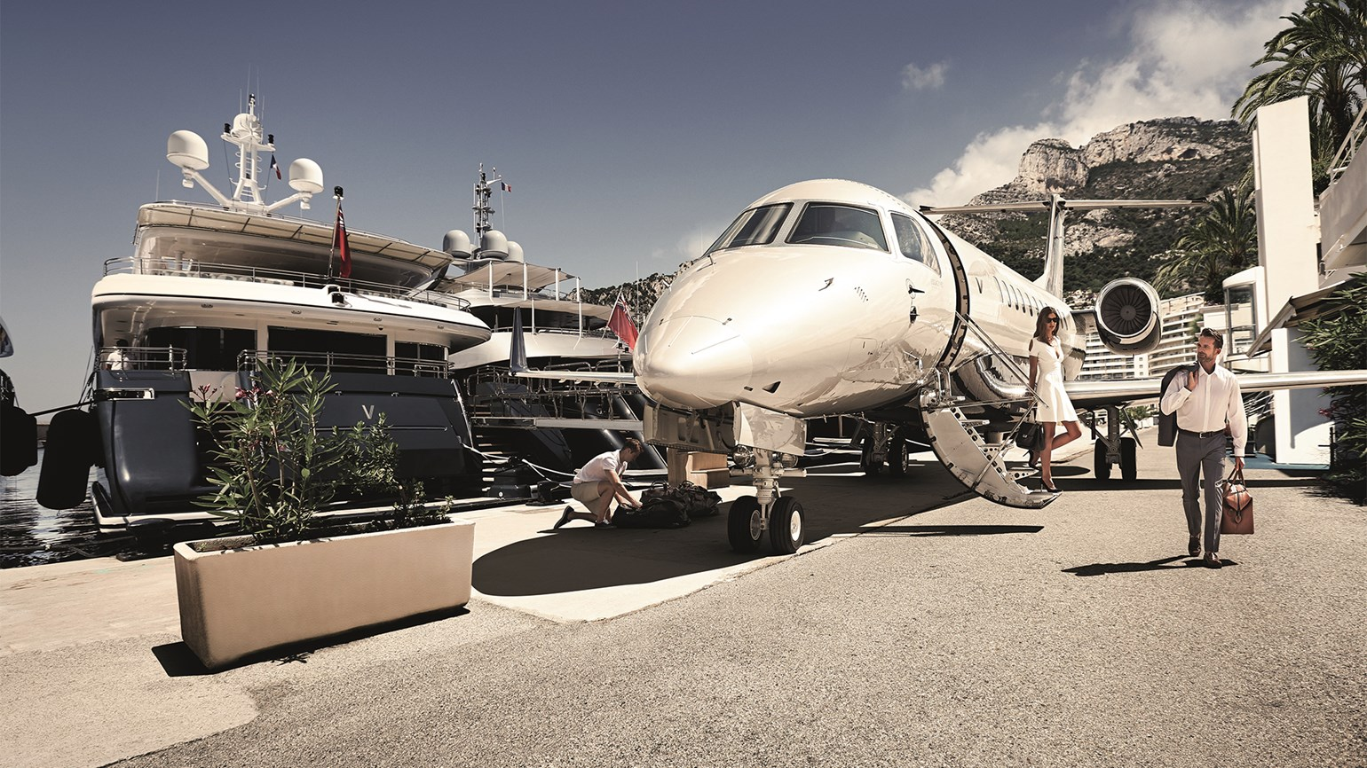 Private jet travel continues to surge