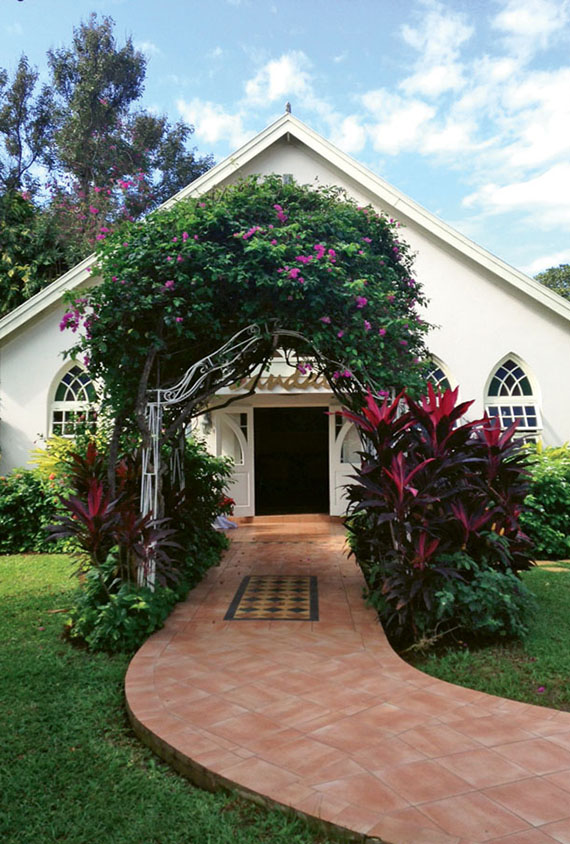 Sandals Montego Bay's interdenominational chapel serves as venue both for weddings and for weekly church services for guests.