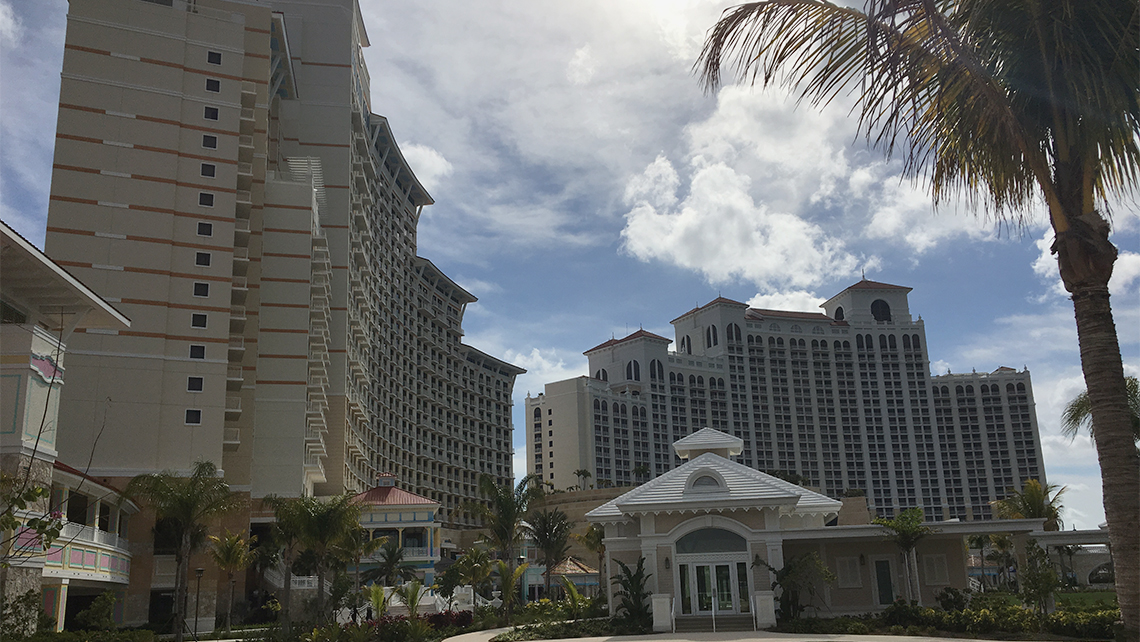 The Grand Hyatt Baha Mar began taking reservations on Friday for stays starting May 29. Photo Credit: Danny King