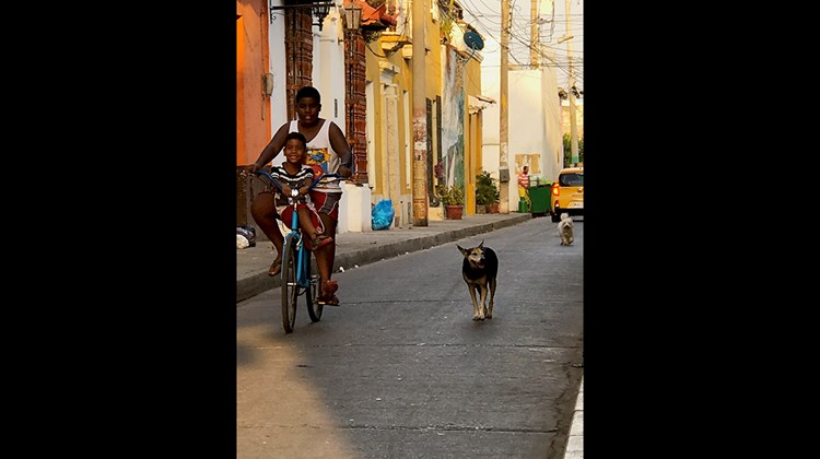 An evening in Getsemani, a former barrio just outside the Old City that is being transformed into one of Cartagena's hippest new centers for arts and culture.