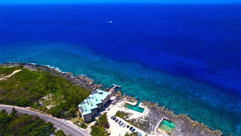 Lighthouse Point Dive Resort on Grand Cayman, which opened in 2009, was the first renewable development in the Cayman Islands.