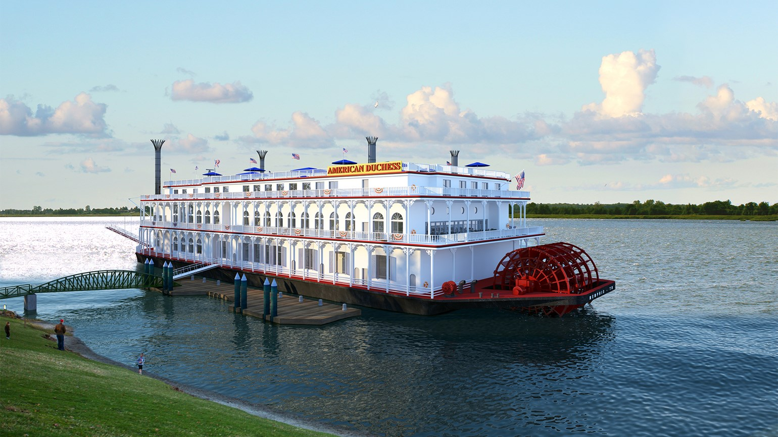 Resurrected US River Cruise Industry Continuing Expansion - Us river transportation map