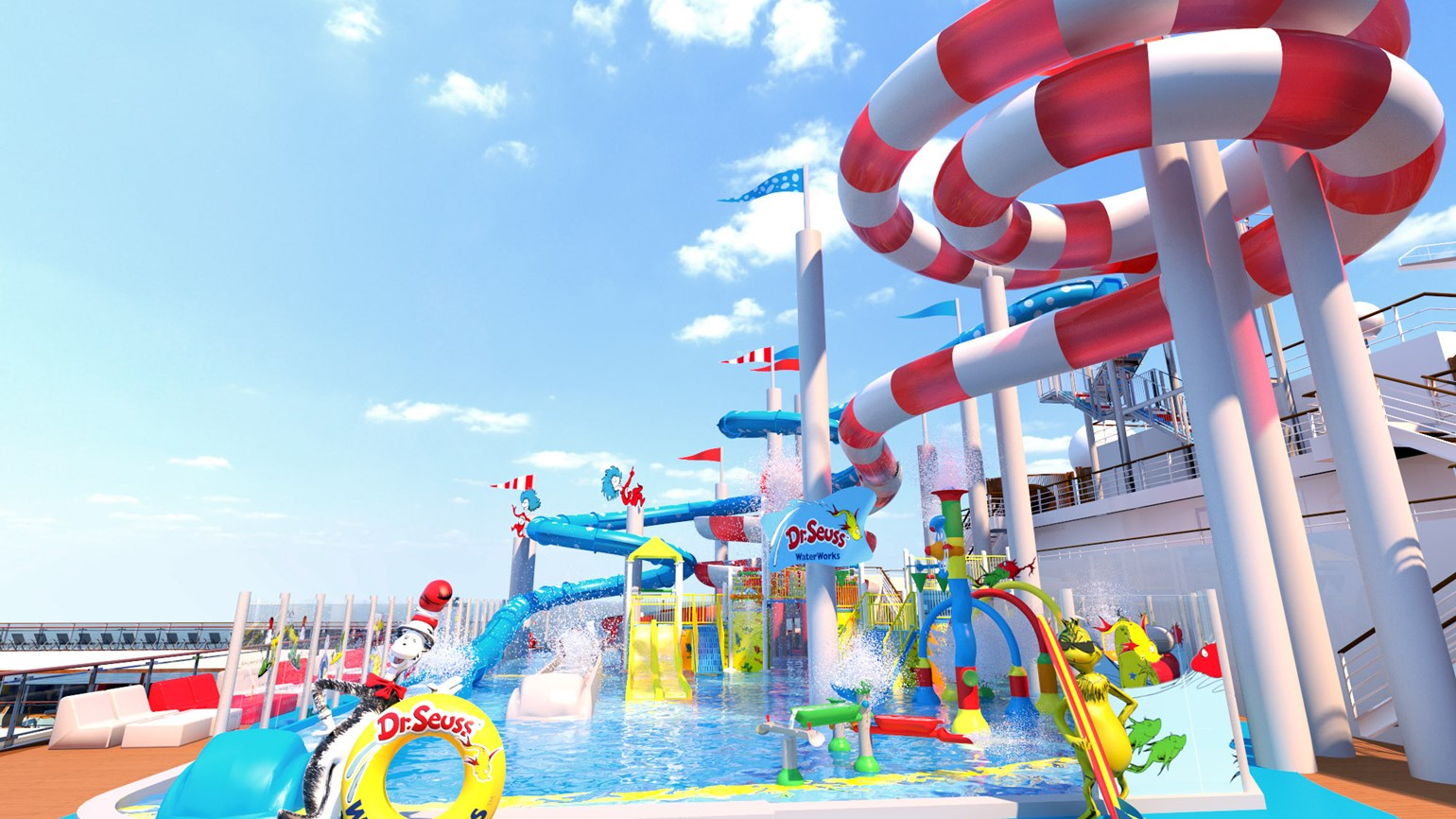 Good fun that is funny: Carnival Horizon to have Dr. Seuss water park
